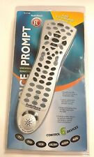 New RADIO SHACK 15-2146 6-IN-ONE VOICE PROMPT UNIVERSAL REMOTE