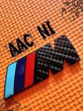 BMW M Sport Carbon fibre Tech Rear Boot Trunk Tail Metal Badge 1 WEEK SALE