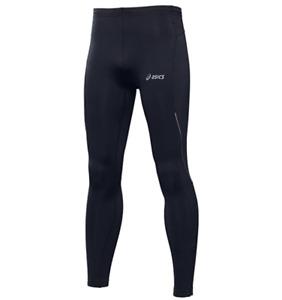 Asics Men's Running Tights Hermes Thermal Winter Sports Tights - Black - New
