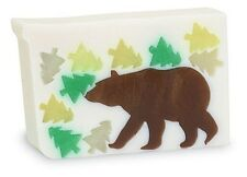 Primal Elements, GINGER BEAR Large 7.0 oz+ not 6.0 Handmade Glycerin Soap