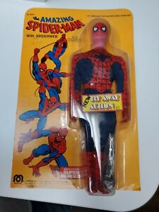 RARE! Vintage 1979 12inch Spiderman Action Figure with Fly Away Action*UNOPENED*