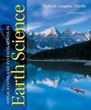 Applications and Investigations in Earth Science by Frederick K. Lutgens,...