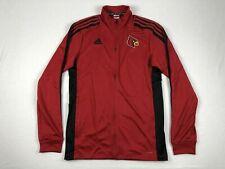 Nuevas Adidas Louisville Cardinals-Para Hombre Chaqueta Roja Clima-lite (varios Tamaños)