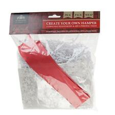 Make Your Own Hamper Kit - with this Cellophane Bag, Bow & Shredded Paper