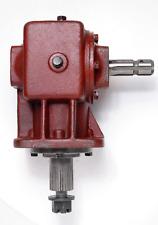 60hp Gearbox, 6 Spline Or Shear bolt Input Shaft, 15 Spline output Shaft