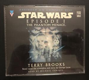 Star Wars Episode 1 Phantom Menace Audio CD Book 3 Discs