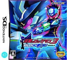 Nintendo DS Rockman Megaman Star Force 3 Black Ace Japan NDS F/S