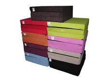 Matelas lit futon pliable pliant 195 x 65 x 10 cm choix des couleurs
