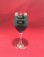 Wine Glass Custom Engraved - Personalised