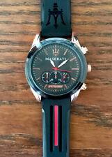 Men's MASERATI Waterproof Watch Stainless Quartz Wrist Watch ✅FAST & FREE POST✅