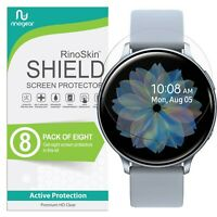 [8-PACK] For Samsung Galaxy Watch Active 2 (44mm) Screen Protector RinoGear USA