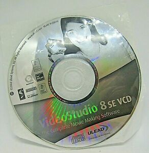 Video Studio 8 SE vCD The Complete Movie Making Software Disc