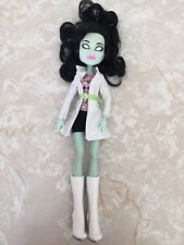 "Monster High 11"" Doll SCARAH SCREAMS I HEART LOVE FASHION COAT BOOTS"