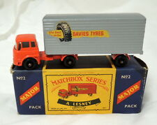 Matchbox Lesney York Freightmaster Trailer in Original Box Made in England No. 2