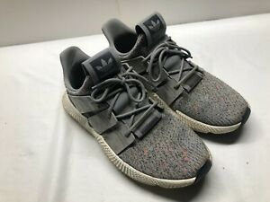Adidas Men's Sneakers Grey / Grey /Orange Evm 004001 Us Size 11 Shoes