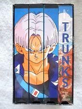 "DRAGON BALL Z - ""TRUNKS SAGA UNCUT"" - COLLECTIBLE 4 VHS TAPE BOXED SET"