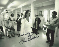 LOUISE FLETCHER SIGNED 'ONE FLEW OVER THE CUCKOOS NEST' 8x10 MOVIE PHOTO B w/COA