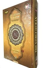 NOBLE Gold Quran Word for Word Arabic to English Translation Colour Tajweed A5