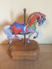 Carousel Collection - Music Box w/Wood Base - Willitts Collectibles - Horse