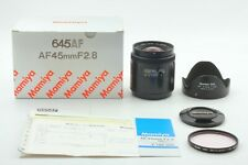 【 NEAR MINT+ 】 Mamiya 645 AF 45mm f/2.8 Wide Angle Lens From Japan #439