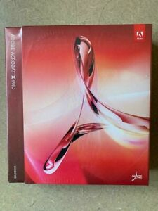 Adobe Acrobat X (Win) - Factory Sealed