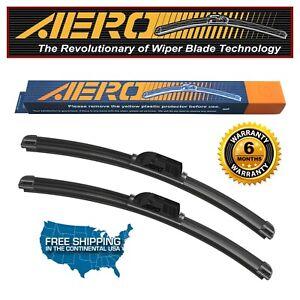 """AERO Ford Transit-250 2019-2015 28""""+21"""" Premium Beam Wiper Blades (Set of 2)"""