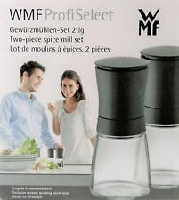 WMF Profi Select 2 tlg. Gewürzmühlen Set Salz-/Pfeffermühle