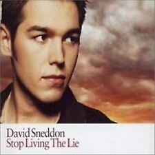 David Sneddon -  Stop Living the Lie.  CD Single