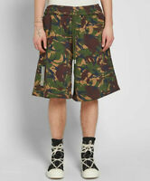 OFF WHITE SHORTS M = XL XXL virgil abloh oversize hose camo camouflage
