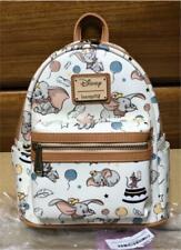 Rare New Loungefly Disney dumbo Icons Mini Backpack