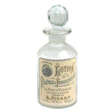 dotcomgiftshop LOTION GLASS PERFUME BOTTLE