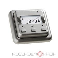 Simu Relax Silber Rolladen Zeitschaltuhr Rohrmotor Rolladenantrieb Rollladen