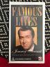 FAMOUS LIVES JIMMY STEWART JAMES STEWART RARE ORIGINAL AS NEW PAL VHS VIDEO