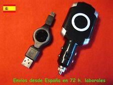 Cargador mechero coche  + cable de datos para PSP serie 2000