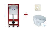 Wand WC SET TECE / Ideal Standard SPÜLKASTEN BH112 +  WC-SITZ weiss