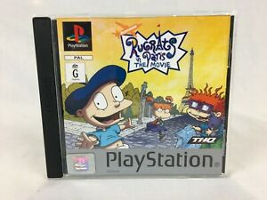 Rugrats In Paris : The Movie - With Manual - PS1 - Playstation 1 - PAL