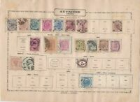 austria early  stamps as shown ref 12313