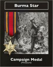 Burma Star -  Campaign Medal - Miniature Reproduction