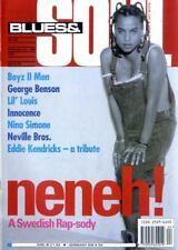 BLUES & SOUL MAGAZINE #624 - NINA SIMONE, GEORGE BENSON, BOYZ II MEN