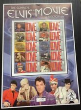 The Complete ELVIS PRESLEY Movie Collection 1965-1967. Collectable  Stamp Sheet.