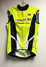 Elite Windoff Lite CYCLING Vest (Hi Vis Yellow) Made in Italy by GSG