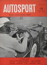 AUTOSPORT magazine 9/4/1954 Vol.8, No.15