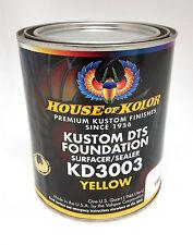 House of Kolor Dts Foundation Primer Surfacer/Sealer-Yellow Quart