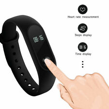 2017! OLED Sport Smart Wristband Smart Watch Bracelet Heart Rate Monitor