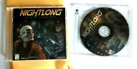 Nightlong Union City Conspiracy 3 Disc set & Manual 1998 PC Game no big box