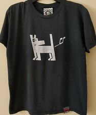 Mambo Australia Farting Dog T-Shirt - Size L - Double Sided