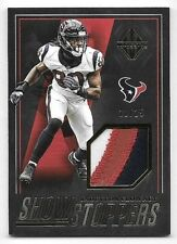 2018 Panini Majestic Show Stoppers Gold Jadeveon Clowney 3 Color Patch #11/25