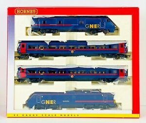 "HORNBY 00 GAUGE - R2602 - GNER 225 TRAIN ""TAM THE GUN"" MALLARD TRAIN PACK - NEW"