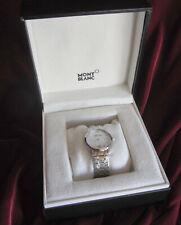 MONTBLANC STAR Damen Uhr steel bracelet 34mm quartz white MOP dial