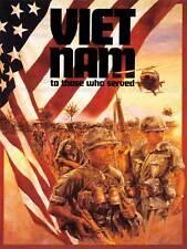 Guerre du vietnam vétéran drapeau soldat arme militaire new art print poster CC3724